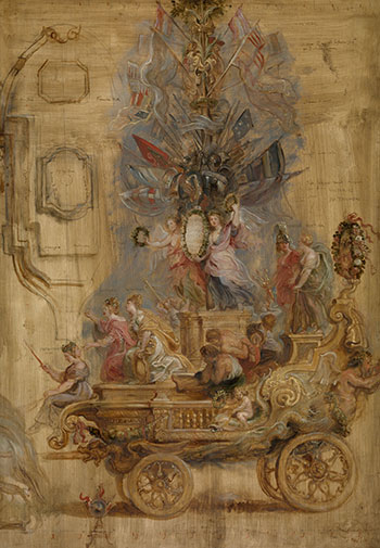 Exposición de bocetos de Rubens en el Museo del Prado. Hasta agosto de 2018