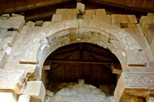 Quintanilla de las Viñas. Arco de herradura