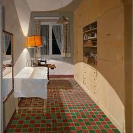 Isabel Quintanilla. Habitación de costura, 1974. Colección de la artista