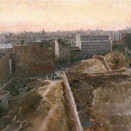 Antonio López. Madrid hacia el Observatorio, 1965-1970. Colección privada