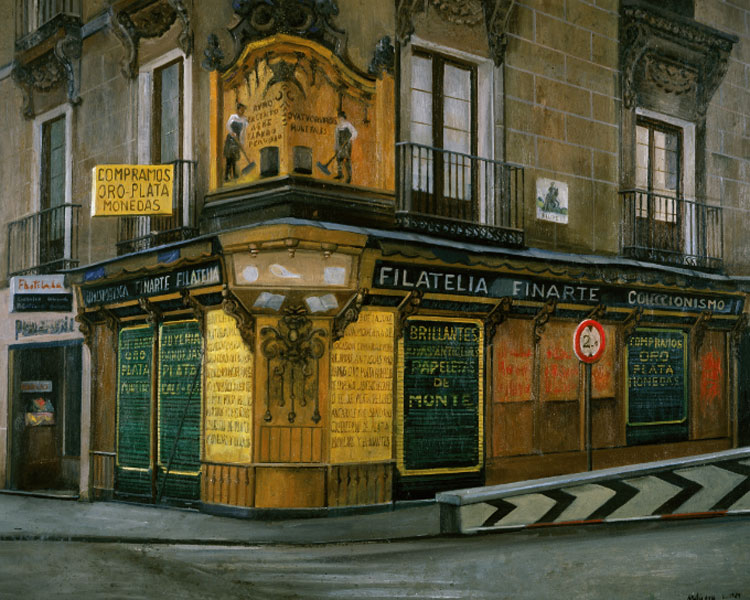 Amalia Avia. Filatelia Finarte, 1989. Realistas de Madrid