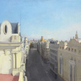 María Moreno. Gran Vía II, 1990. Colección privada