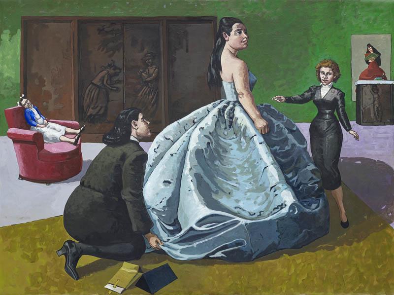 Paula Rego. La prueba, 1989