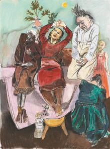 Paula Rego. Terapia, 2011