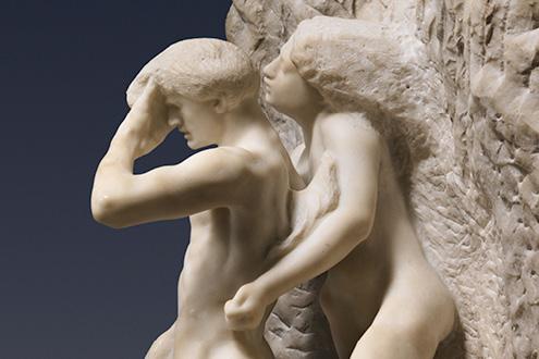 Rodin. Orfeo y Eurídice, hacia 1887. The Metropolitan Museum of Art