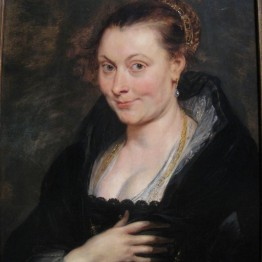 Peter Paul Rubens, Isabella Brant, c. 1620-1625. The Cleveland Museum of art