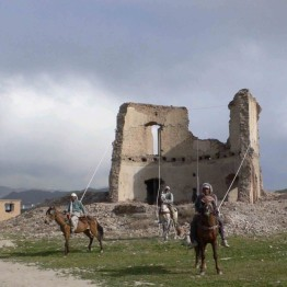 Zanjas creativas en tierras devastadas