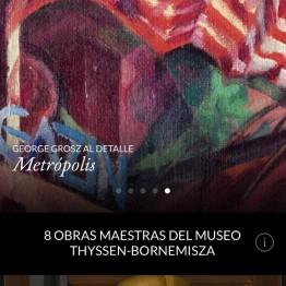 Second Canvas Thyssen: ocho obras maestras de la colección Thyssen, en súper alta resolución