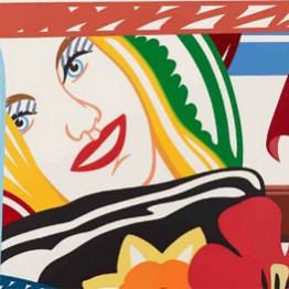 Tom Wesselmann. From Bedroom painting #41, 1990