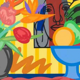 Tom Wesselmann. Mixed bouquet with Leger, 1993