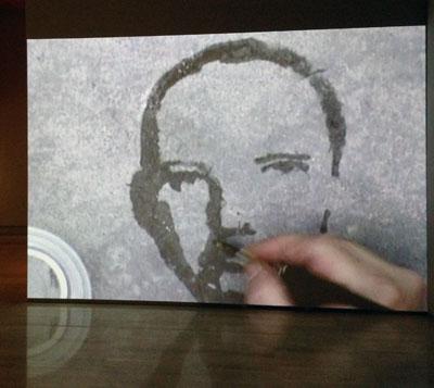 Desmaterializacioes. Exposición de Oscar Muñoz en la Fundación Sorigué