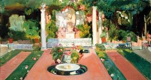 Joaquín Sorolla. Jardín de la casa de Sorolla, hacia 1918. Museo Sorolla