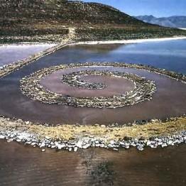 Robert Smithson. Spiral Jetty, 1970