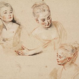Los galantes papeles de Watteau