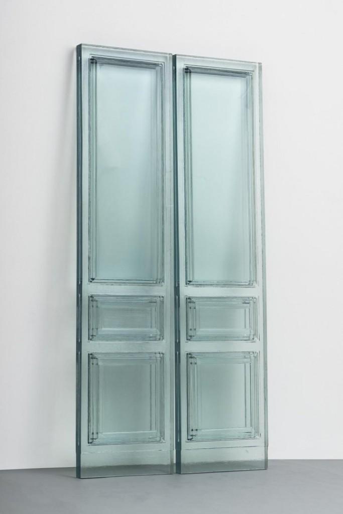 Rachel Whiteread. Due Porte, 2016. Galleria Lorcan O´Neill, Roma