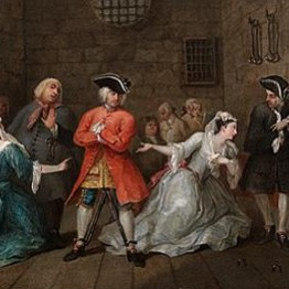 William Hogarth. The Beggar's Opera II, 1728
