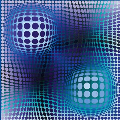 Víctor Vasarely. Feny, 1973. Colección Carmen Thyssen-Bornemisza