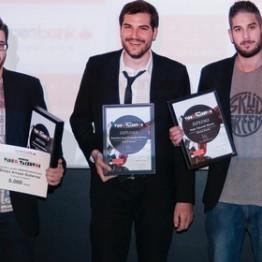 Diego Arroyo, Arántzazu Carsi, Gustavo Marqués y Paula Vidal, premiados en Videotalentos 2014