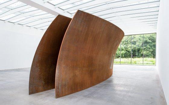 Richard Serra en el Museo Voorlinden, La Haya