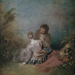 Watteau. Paso en falso
