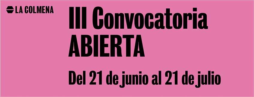 La Colmena. Convocatoria para artistas jóvenes (hasta 35 años)