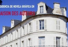 Residencia de novela gráfica en la Maison des Auteurs 2015-2016