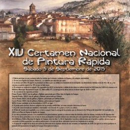XIV Certamen Nacional de Pintura Rápida de Aguilar de Campoo