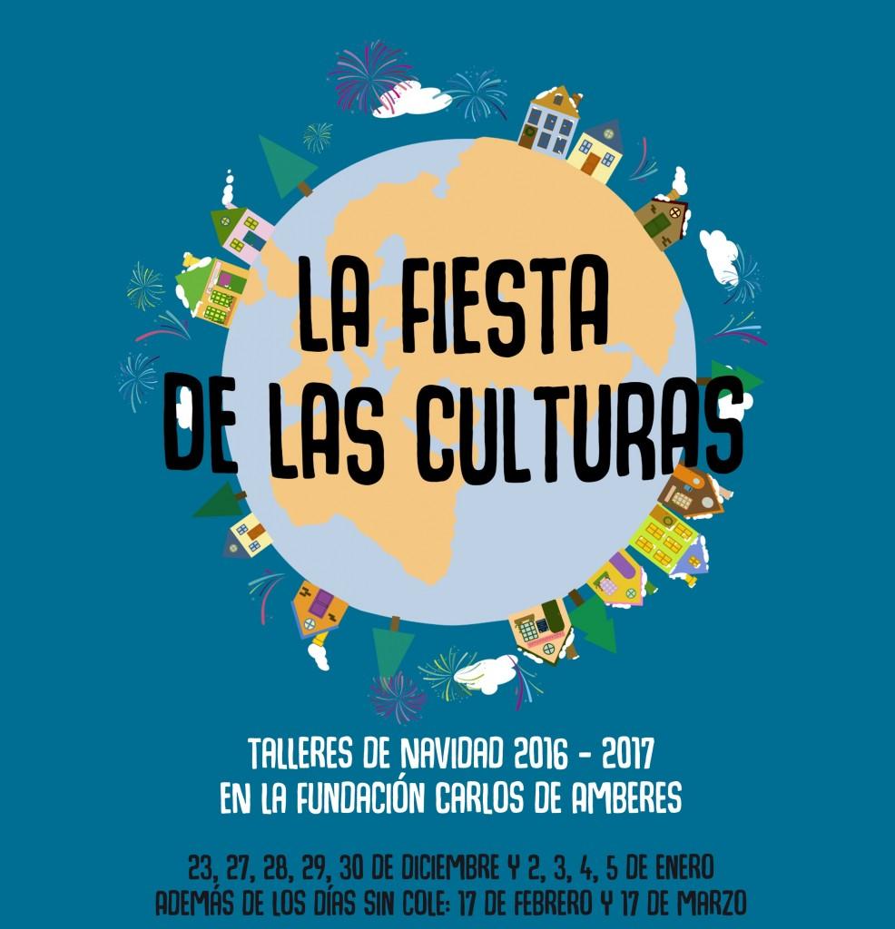 La fiesta de las culturas. Talleres de navidad organizados por Arte en mente en la Fundación Carlos de Amberes