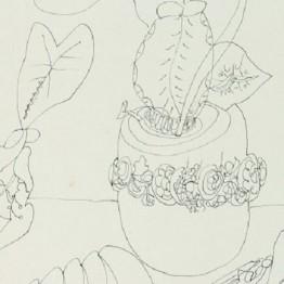 Raphael Domingues. Sin título, 1949 (detalle).