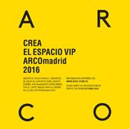 Concurso de ideas AD para el diseño de la Sala VIP de ARCOmadrid 2016
