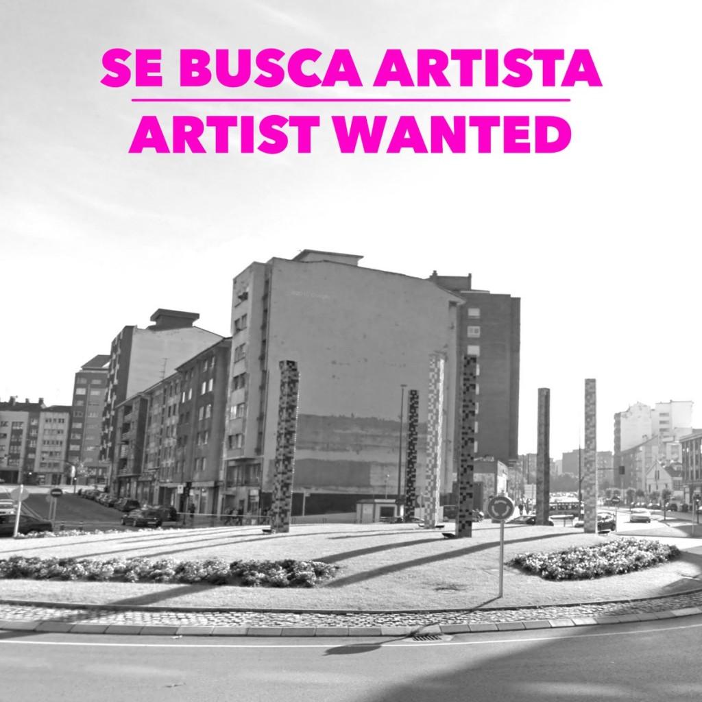 Convocatoria de intervención artística sobre una medianera en Avilés. festival Asalto