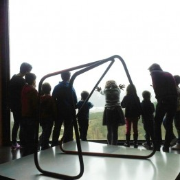 Fragmentos sueltos. Taller infantil con Asier Mendizábal en el Museo Oteiza