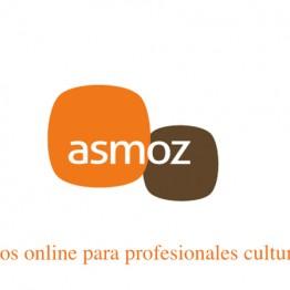 Formación online para profesionales de la cultura. ASMOZ