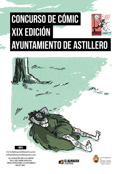 XIX Concurso de cómic. Convocado por el Ayuntamiento de Astillero