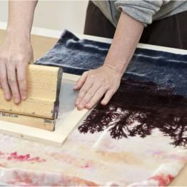 Técnicas manuales de estampación textil. Taller en el Museo Cristóbal Balenciaga. Inscripción hasta el 23 de marzo