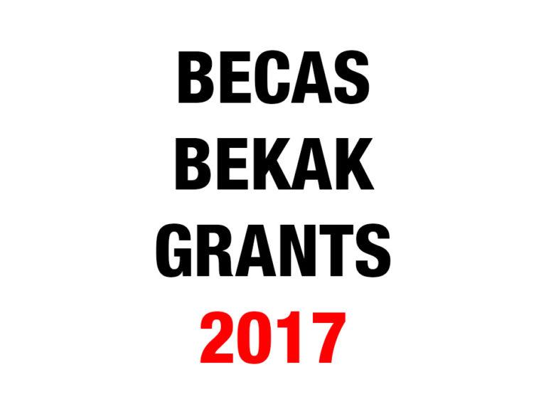 Becas para la realización de proyectos artísticos en 2017. Bilbao Arte