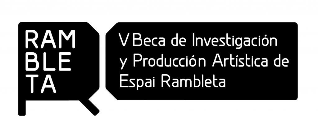 V Beca de producción e investigación artística de Espai Rambleta