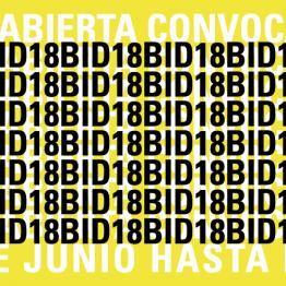 6ª Bienal Iberoamericana de Diseño. BID. Inscripción hasta el 15 de junio de 2018