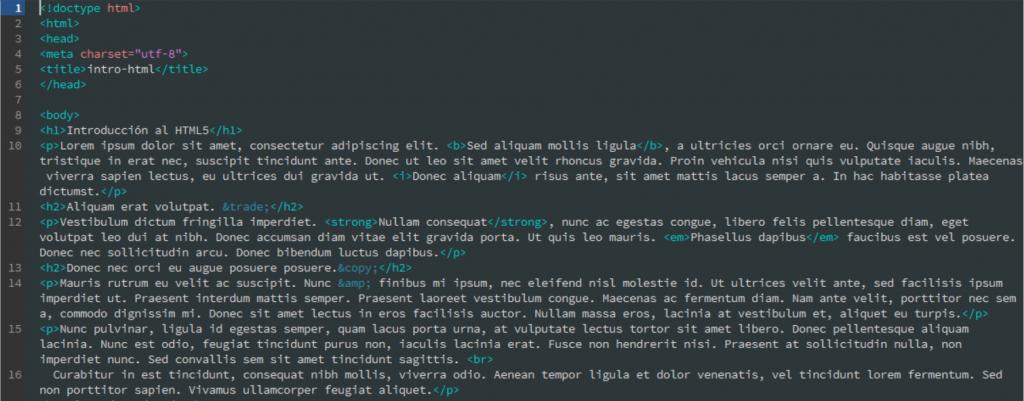 Desarrollo web para artistas. Curso de HTML5 y CSS3 en Bilbao Arte
