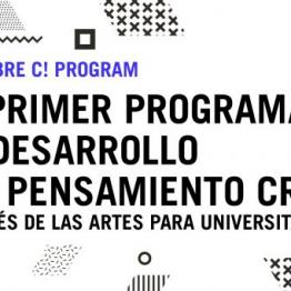 C! PROGRAM. La Fundación Botín convoca un programa de desarrollo del pensamiento creativo a través de las artes para universitarios