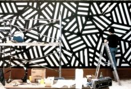 La Fundación Botín busca 15 profesionales para instalar los dibujos murales de Sol LeWitt