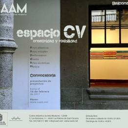 Espacio CV. Creatividad y visibilidad. CAAM