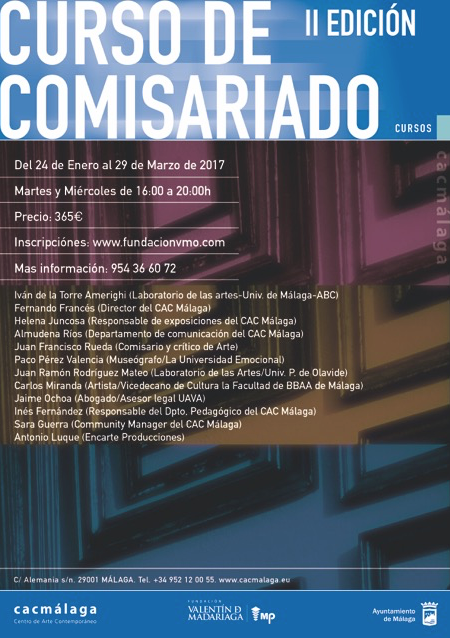 Prácticas para un proyecto expositivo. II Curso de comisariado organizado por el CAC Málaga y la Fundación Valentín de Madariaga