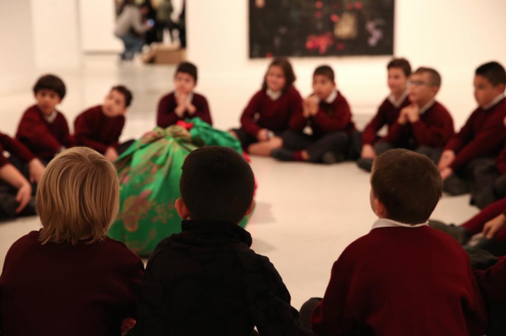 Talleres pedagógicos de Navidad en el CAC Málaga