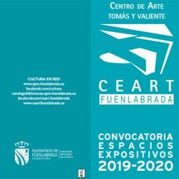 Convocatoria de espacios expositivos 2019-2020 del Centro de Arte Tomás y Valiente