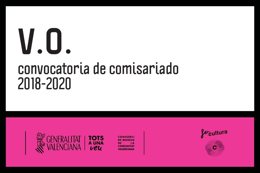 V.O. Convocatoria de comisariado 2018-2020
