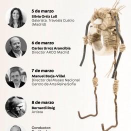 Primer ciclo de conversaciones en torno al mundo del arte. Hasta el 8 de marzo, en la Universidad Europea de Madrid