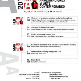 VIII Curso de Aproximaciones al Arte Contemporáneo