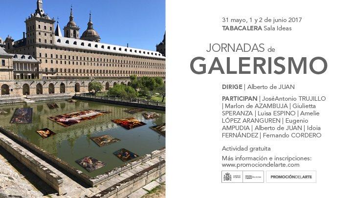 Jornadas de galerismo. Dirigidas por Alberto de Juan, en Tabacalera. Promoción del Arte