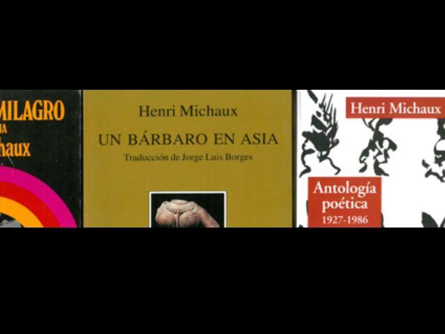 Recital de textos de Henri Michaux. El 26 de abril, en el Museo Guggenheim Bilbao